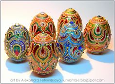 Art by Alexandra Fet: Easter project-2013. Part 4.