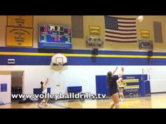 Volleyball Passing and Setting Drills: Better Ball Control 60 seconds Volleyball Passing Drills, Volleyball Workouts, Volleyball Mom, Coaching Volleyball, Physical Education Games, Physical Activities, Health Education, Dynamic Warm Up, Dynamic Stretching
