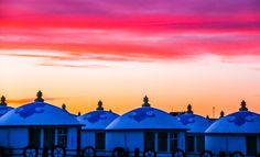 Mongolian Yurt, Yurts, Canon Eos, Taj Mahal, Asia, Building, Travel, Viajes, Buildings