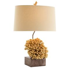 Coral Lamp: $545 Beautiful & Inspiring Coastal Home Themed Accents For Interior Design Fans To Enjoy, Courtesy of InStyle-Decor.com Beverly Hills