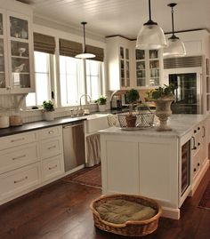 Clear Glass With Large Cap Lamps Vintage Kitchen Lighting Idea