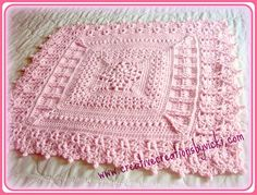 Ravelry: Heirloom Coverlet for Baby pattern by Vicki Plunkett