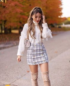This week we have a special heads-up for all of our readers out there. Thanksgiving is a time of year that conjures up warm and homey images. Family g. Source by remaselena outfits moda Cute Skirt Outfits, Girly Outfits, Cute Casual Outfits, Stylish Outfits, Grunge Outfits, Casual Dresses, Cute Winter Outfits Tumblr, Classy Outfits For Women, Rock Outfits