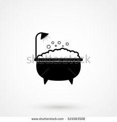 Afbeeldingsresultaat voor bathroom door design pictogram
