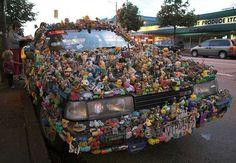 Crazy toy car