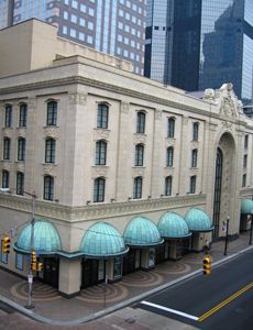 Heinz Hall in Pittsburgh...  I worked here in the late 70's.