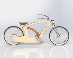Wood Bike (work in progress) by Tiago Braz Martins, via Behance