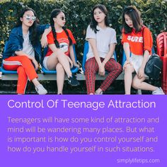 The age, especially #teenage, 13 years to 19 years. Not only 19 years but  20 to 30 years also #girls have to go through many #distractios. Girls have to be careful and have to escape from all such kind of nonsense activities and learn how to guide yourself. #simplylifetip