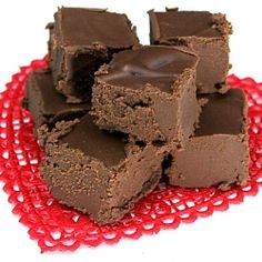 Easy no bake recipe for chocolate fudge! Not healthy at all - look into substituting ingredients later