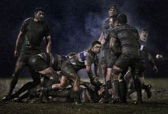 Action from a rugby match between Old Belvedere and Blackrock, in Dublin, Ireland, on February 5, 2011. This photo won second prize in the Sports Singles category of the 2012 World Press Photo contest. (AP Photo/Ray McManus, Sportsfile)