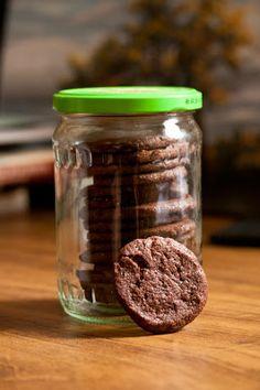 La Cucinetta: Biscoitos de chocolate para depois de um dia de trabalho
