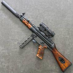 Airsoft Guns, Weapons Guns, Guns And Ammo, Submachine Gun, Hunting Guns, Custom Guns, Cool Guns, Assault Rifle, Military Weapons