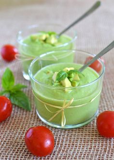 Hot, hot, hot here in Dallas today.  This soup sounds like a refreshing antidote ~~ Raw Avocado Soup from @Cooking Rookie