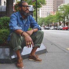 urbanbeardsman:  independencechicago  Take a closer look: https://capthatt.com #mensfashionruggedsimple #mensstyle #mensclothingstyles #mensclothingstyles #mensclothingstyles #streetwear #stylishmen
