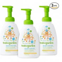 Babyganics Baby Shampoo + Body Wash Pump Bottle, Fragrance Free, 3 Pack, Packaging May Vary Amazon Subscribe And Save, Baby Soap, Baby Skin Care, Baby Care, Thing 1, Perfume, Baby Shampoo, Baby Supplies, Unisex