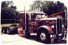 Vintage 1949 Kenworth..