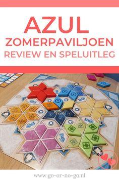 Wij zijn hier in huis alle vier fan van het gezelschapsspel Azul. Inmiddels hebben we de nieuwe versie Azul Zomerpaviljoen getest en in deze review onze bevindingen.  #azul #bordspel #gezelschapsspel