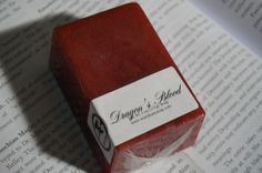 Dragon's Blood Soap – Witch Baby Soap