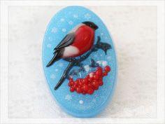 Мыло Снегирь 2д в цвете - яркий, красивый снегирь по настоящему зимний сувенир к новому году!