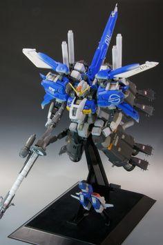 ガンプラ王2015 MG 1/100 S Gundam Booster Unit. Work by てんぷら PHOTO REVIEW http://www.gunjap.net/site/?p=253563