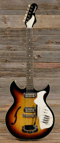 HARMONY Rebel Sunburst 1966 (sH82) | Chicago Music Exchange
