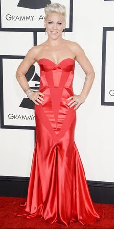 2014 Grammys red carpet coverage: See the best (and worst) outfits of the Grammy Awards Grammy Awards 2014, Beautiful Dresses, Nice Dresses, Jennifer Love Hewitt, Red Carpet Looks, Red Carpet Fashion, Debbie Harry, Lady In Red, Pixies