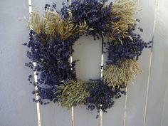 Wreaths For Front Door, Door Wreaths, Lavender Wreath
