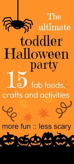 Everything you need for an easy Halloween party | BabyCentre Blog