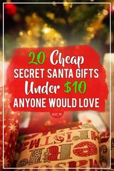 20 cheap secret santa gifts under 10 anyone would love office christmas gifts christmas gifts