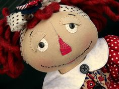 DIY Raggedy Ann Doll.... Learn....Create....Inspire.... Samantha Walker Creative Team Blog Hop....