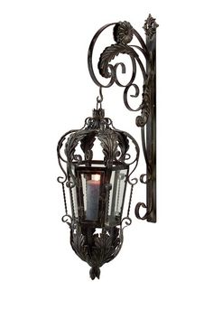 This is so gorgeous, if I had the extra $108, discounted from 263, I wouldn't mind spending it on this wrought iron lantern, it's so perfect! If you do happen to be lucky enough to have that money, check this out at Hautelook.com.