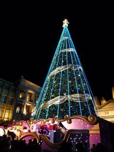 Christmas tree at Universal Studios Japan, Osaka City