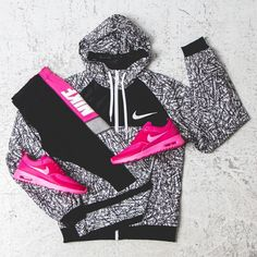 Nike workout clothes for women @ http://www.FitnessApparelExpress.com
