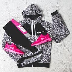 Nike workout clothes for women @ http://www.FitnessApparelExpress.com