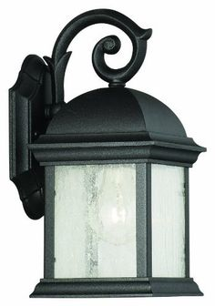 Thomas Lighting M52117 Calais Collection 1 Light Outdoor Wall Lantern, Matte Black by Thomas Lighting. $71.00. Thomas Lighting brand dates back to 1919, the Company developed a nationwide reputation as a designer and manufacturer of high quality lighting fixtures with a special emphasis on traditional styles.