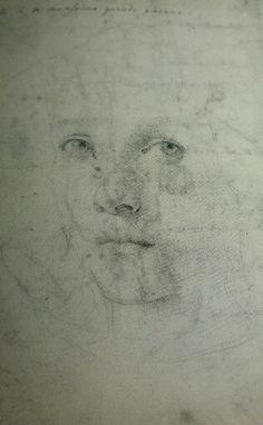 Autoportrait Raphaël, British Museum. Recto