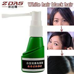 伝統的な中国医学硬化白髪ターングレー黒液ufaガバナンス若年白髪損失製品血清オイル