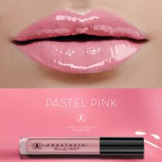 Pastel Pink on the lips. #LipGloss