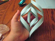 3D Sneeuwvlok maken