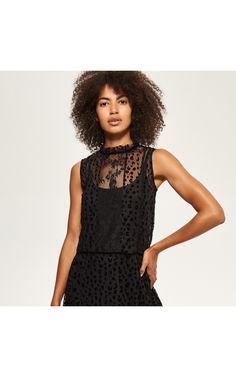 Večerní krajkové šaty, Šaty, Černý, RESERVED