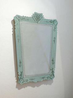 Venetian Mirror by Pietro Chiesa,Gio Ponti, Fontana Arte, 1946 image 2