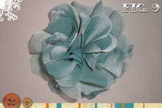 flor de chifon
