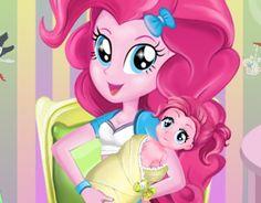game Pinkie Pie Baby Birth