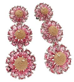 Roberto Demeglio, Gemma collection pink #earrings