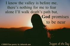 Snippet of The Day 09.23.17 | CHRISTian  poetry ~ by deborah ann