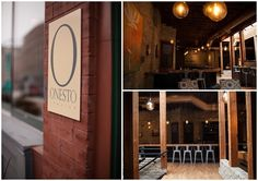 Onesto is located in Milwaukee's Historic Third Ward neighborhood and is designed in a NYC loft style aesthetic. Photos by Nikki Winter Photography