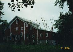 The Rising Star Mill in Nelsonville, Wisconsin.