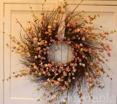 BEAUTIFUL wreath tutorial. You can make this!
