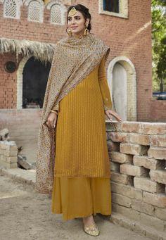 Pakistani Suits, Salwar Suits, Salwar Kameez, Churidar, Punjabi Suits, Ethnic Fashion, Indian Fashion, Heavy Dupatta, Palazzo Suit