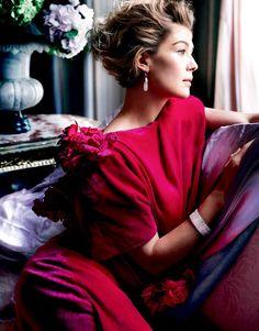 Rosamund  Pike Vanity Fair February 2015  By Mario Testino
